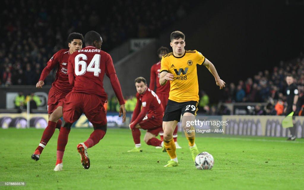 Wolverhampton Wanderers v Liverpool - Emirates FA Cup Third Round : News Photo