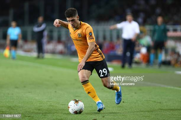 Ruben Vinagre of Wolverhampton Wanderers Fc in action during the UEFA Europa League playoff first leg football match between Torino Fc and...