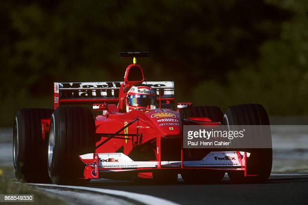 Rubens Barrichello Ferrari F12000 Grand Prix of Hungary Hungaroring 13 August 2000