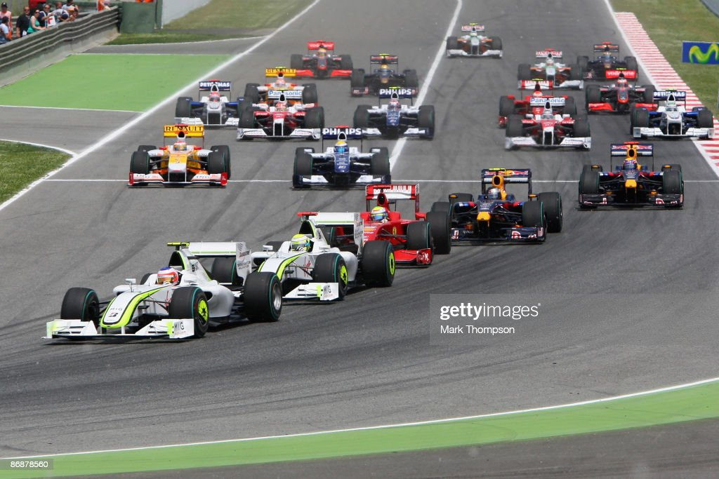 F1 Grand Prix of Spain - Race : News Photo