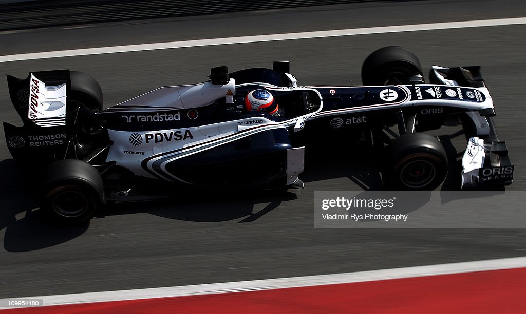 F1 Testing in Barcelona - Day Four : News Photo
