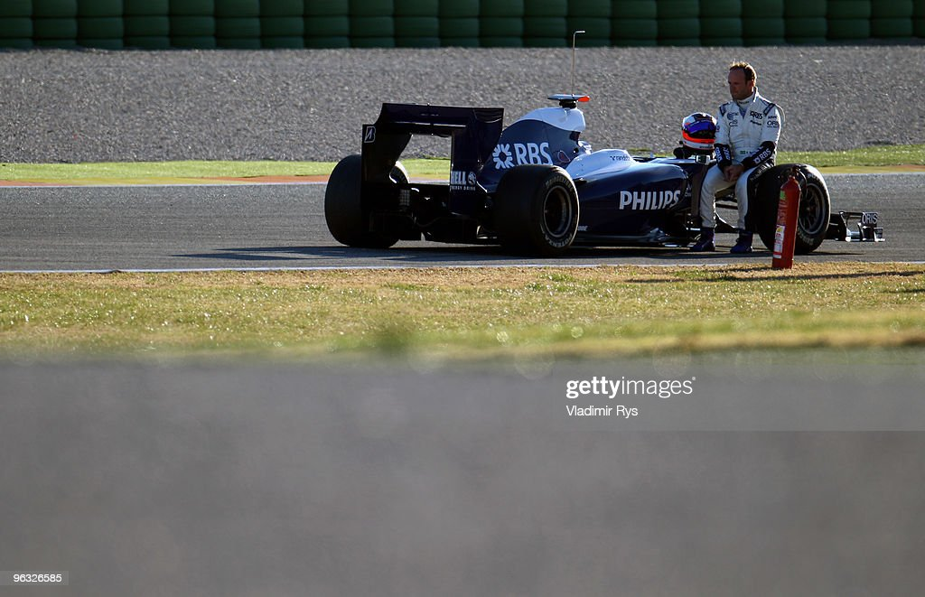 F1 Testing in Valencia