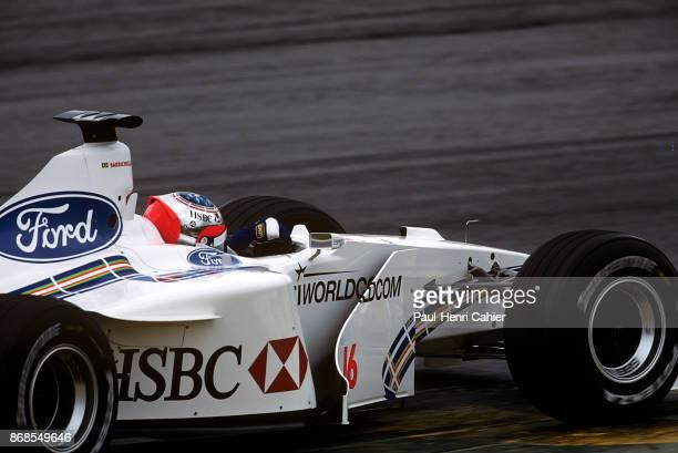 Rubens Barrichello StewartFord SF3 Grand Prix of Brazil Autodromo Jose Carlos Pace Interlagos 11 April 1999