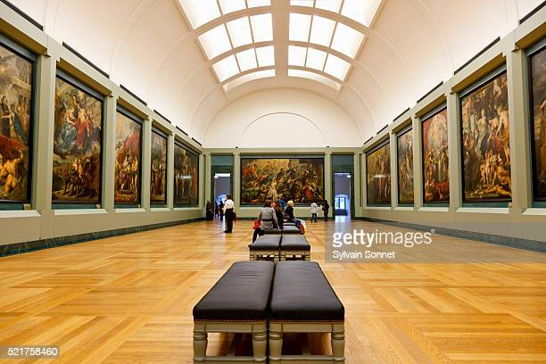 Rubens Gallery in the Musee du Louvre