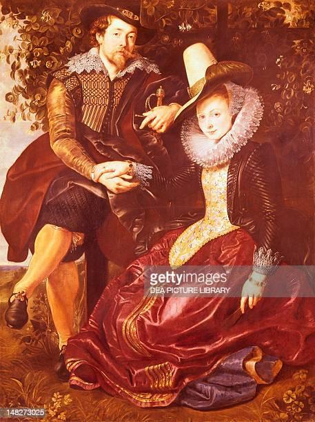 Rubens's wife Isabella Brandt by Peter Paul Rubens Monaco Alte Pinakothek