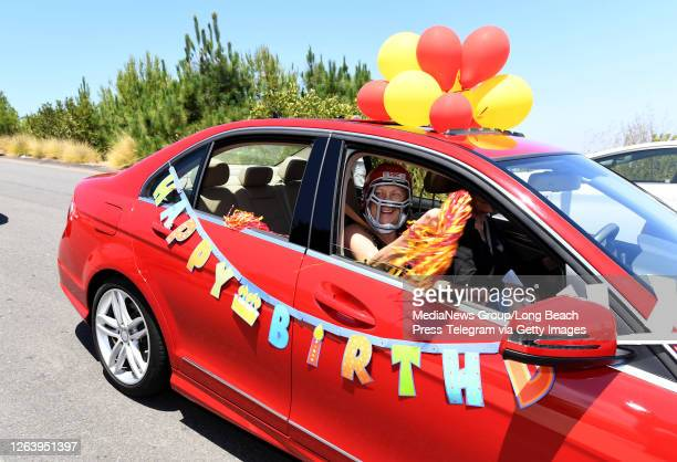 Ruberta Weaver celebrated her 104th birthday surrounded by family and friends as a parade of cars drove past her home in Rancho Palos Verdes on...