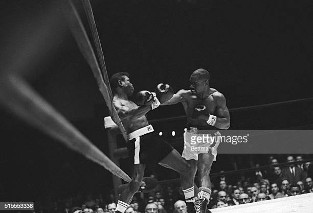 Rubin Carter knocks out Emile Griffith two minutes and thirteen seconds into the first round of their match Convicted for a triple murder in 1967...