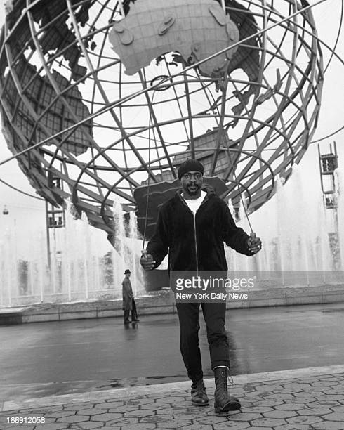 Rubin Hurricane Carter who is to meet Joey Giardello for the World's middleweight Championship next month is seen this morning working out at the...