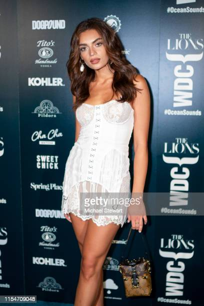 Rubina Dyan attends the The Lions X WDC World Ocean Day Event at Spring Place on June 8, 2019 in New York City.