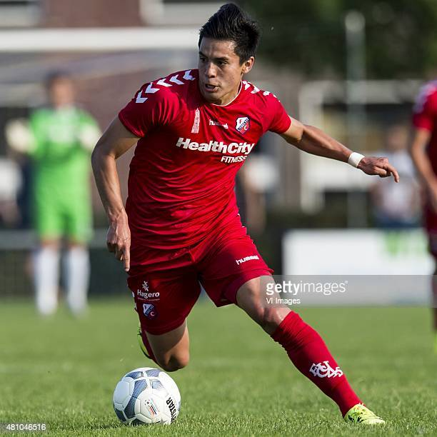 Rubio Rubin of FC Utrecht during the preseason friendly match between FC Utrecht and Dundee United on July 16 2015 in Woerden The Netherlands