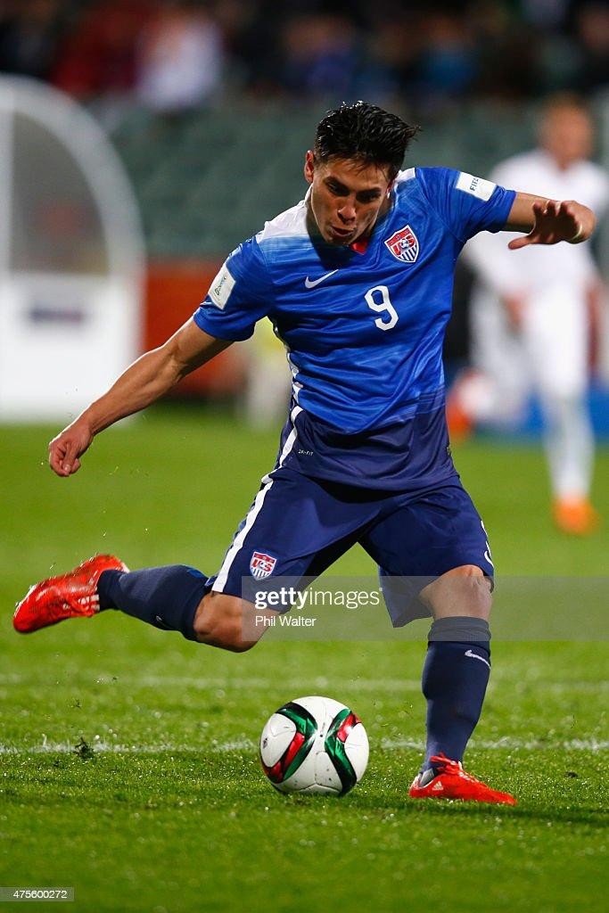 New Zealand v USA: Group A - FIFA U-20 World Cup New Zealand 2015 : News Photo