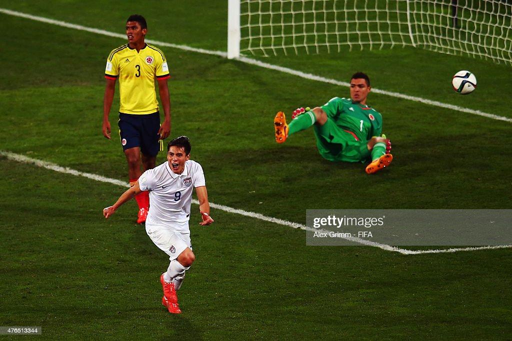 USA v Colombia: Round of 16 - FIFA U-20 World Cup New Zealand 2015 : News Photo