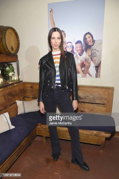 Ruby Aldridge attends as Aerie celebrates #AerieREAL Role Models in NYC on January 31 2019 in New York City