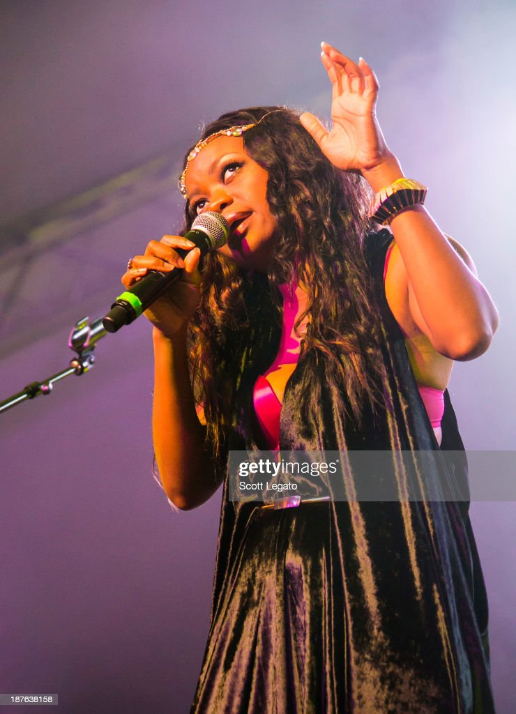 Ruby Amanfu performs at the 2013 Voodoo Music + Arts Experience at City Park on November 2, 2013 in New Orleans, Louisiana.