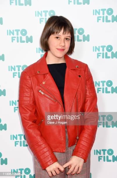 Ruby Barnhill attends the Into Film Award 2019 at Odeon Luxe Leicester Square on March 04, 2019 in London, England.