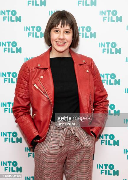 Ruby Barnhill attends the Into Film Award 2019 at Odeon Luxe Leicester Square on March 04 2019 in London England
