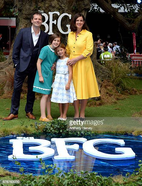 Ruby Barnhill attends the UK film premiere of the BFG on July 17, 2016 in London, England.
