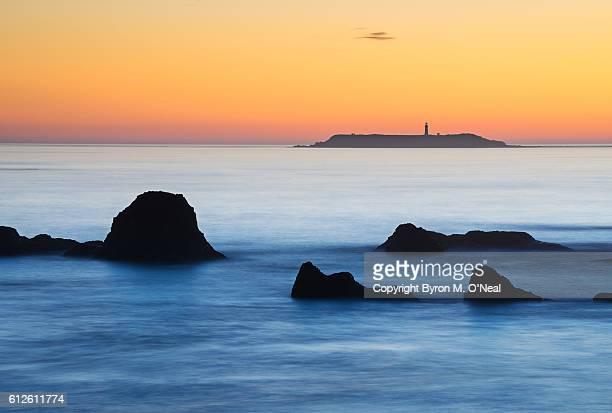 Ruby Beach with Destruction Point Lighthouse