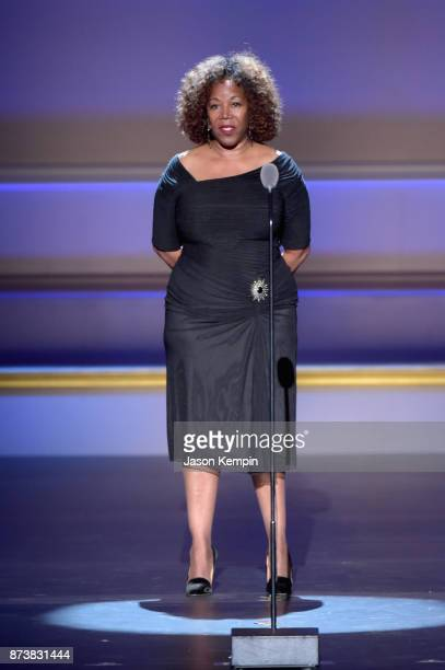 Ruby Bridges speaks onstage at Glamour's 2017 Women of The Year Awards at Kings Theatre on November 13 2017 in Brooklyn New York