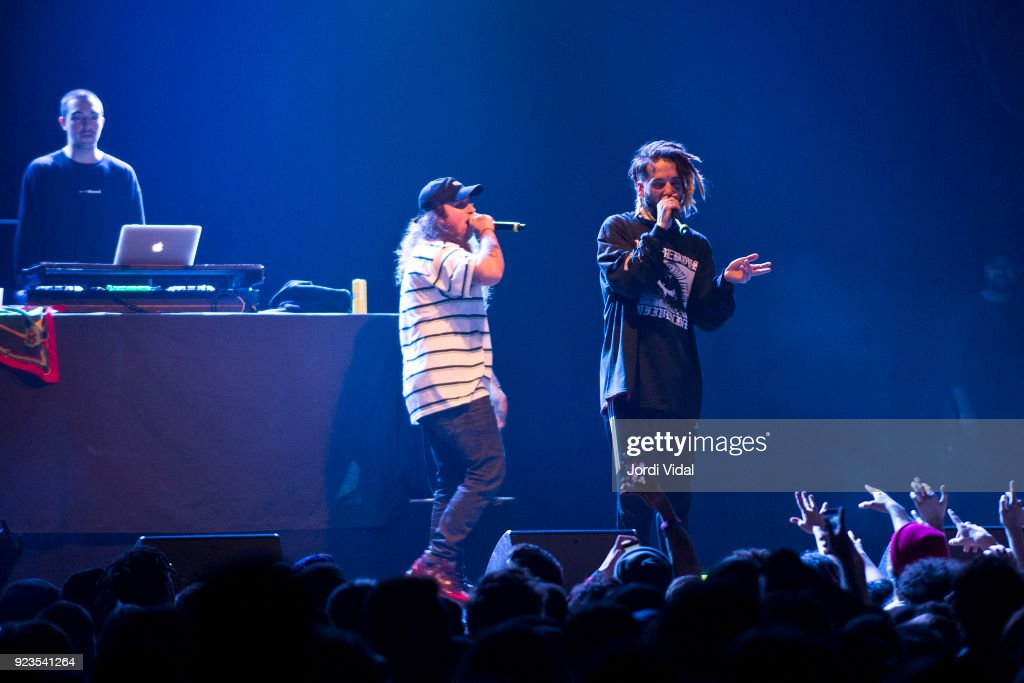 $uicideboy$ Perform in Concert in Barcelona