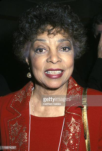 Ruby Dee during 53rd Annual Christopher Awards at TimeLife Building in New York City New York United States