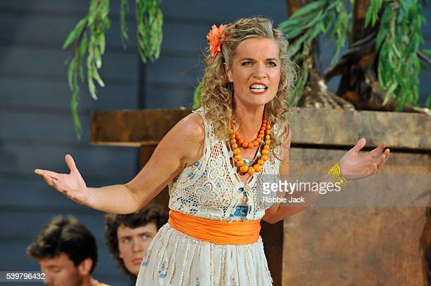 Ruby Hughes as Argene in Garsington Opera's production of Antonio Vivaldi's L'Olimpiade directed by David Freeman and conducted by Laurence Cummings...