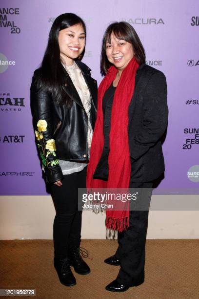 """Ruby Ibarra and Writer/Director Ramona S. Diaz attend the """"A Thousand Cuts"""" Premiere during the 2020 Sundance Film Festival at Egyptian Theatre on..."""