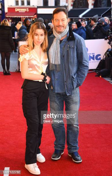 "Ruby Isaaca and Jason Isaacs attend a gala screening of ""The Kid Who Would Be King"" held at Odeon Leicester Square on February 03, 2019 in London,..."