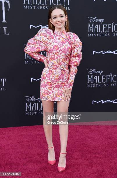Ruby Jay arrives at the World Premiere of Disney's Maleficent Mistress Of Evil at El Capitan Theatre on September 30 2019 in Los Angeles California