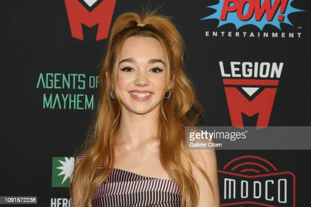 Ruby Jay arrives for Excelsior A Celebration of The Amazing Fantastic Incredible and Uncanny Life Of Stan Lee at TCL Chinese Theatre on January 30...