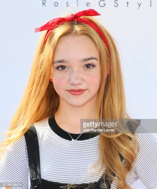 Ruby Jay attends Grace Rose's Fashion Show Fundraiser for Cystic Fibrosis on August 18 2018 in Los Angeles California