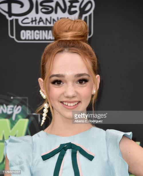 Ruby Jay attends the premiere of Disney Channel's Kim Possible at The Television Academy on February 12 2019 in Los Angeles California