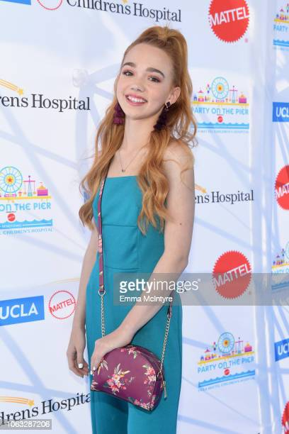 Ruby Jay attends the UCLA Mattel Children's Hospital's 19th Annual Party on the Pier at Santa Monica Pier on November 18 2018 in Santa Monica...