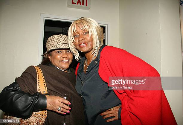 Ruby Jones Mitchell and Janice Combs during Cheryl Fox Spencer A Spirit of the Soul Photo Exhibit Hosted By Sean 'P Diddy' Combs and Crown Royal XR...