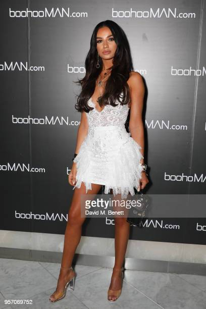 Ruby Mae attends boohooMAN by Dele Alli Launch at Radio Rooftop on May 10 2018 in London England