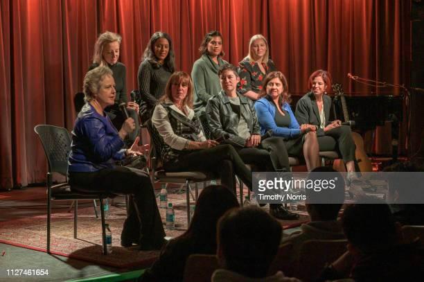 Ruby Marchand Tina Fasbender Susan Nesbitt Neeta Ragoowansi Monika Tashman Jenny Reader Brenda Robinson Anjali Southward and Adina Friedman speak...