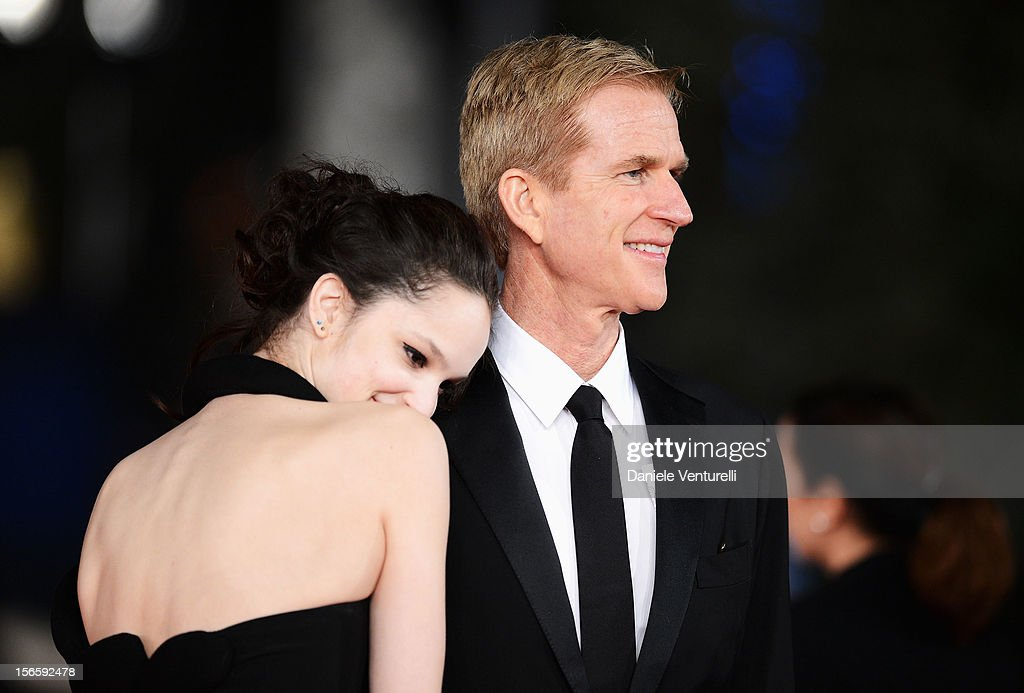 Ruby Modine and Matthew Modine attend the Closing Ceremony Red Carpet during the 7th Rome Film Festival at the Auditorium Parco Della Musica on November 17, 2012 in Rome, Italy.
