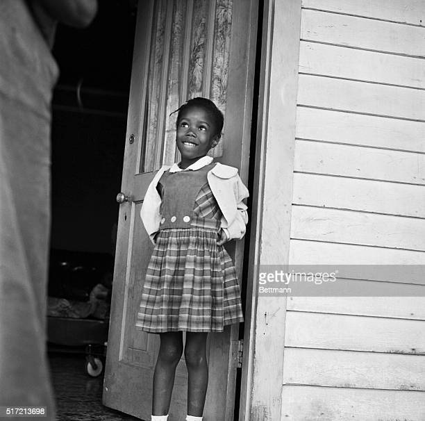 Ruby Nell Bridges at age 6 was the first African American child to attend William Franz Elementary School in New Orleans after Federal courts ordered...