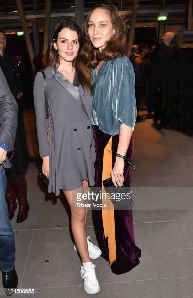 Ruby O Fee and Jeanette Hain attend the NRW reception during 69th Berlinale International Film Festival on February 10 2019 in Berlin Germany
