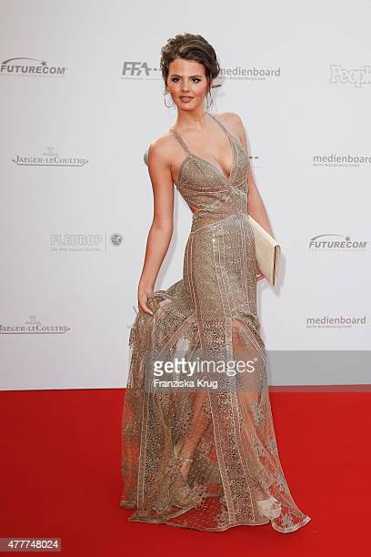 Ruby O Fee arrives for the German Film Award 2015 Lola at Messe Berlin on June 19 2015 in Berlin Germany