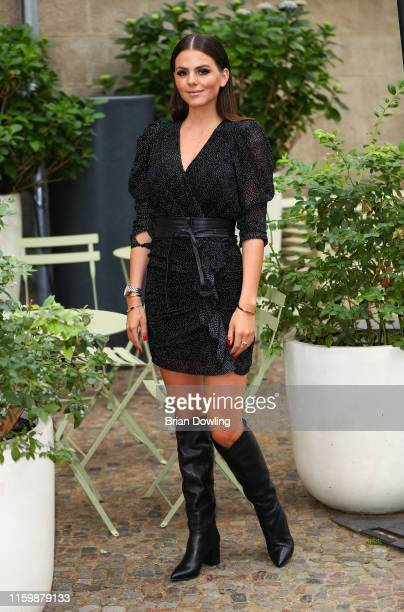 Ruby O Fee at the Thomas Sabo X Rita Ora press Cocktail at Stadtbad Oderberger on July 03 2019 in Berlin Germany