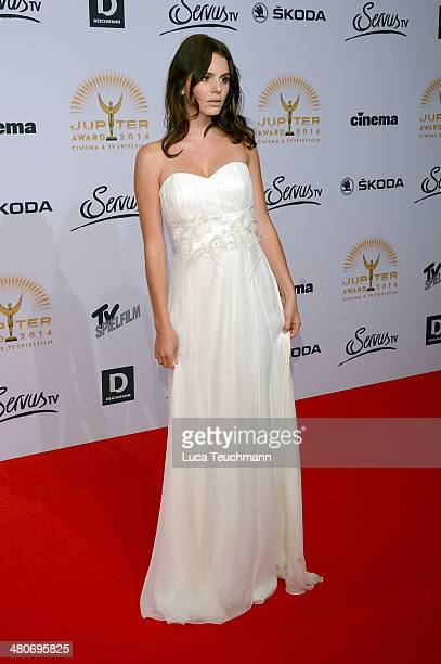 Ruby O Fee attends 'Jupiter Award 2014' at Cafe Moskau on March 26 2014 in Berlin Germany