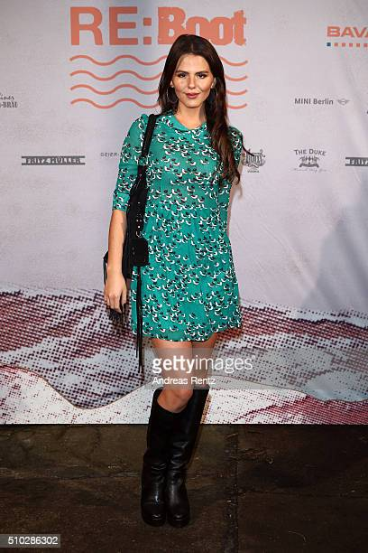 Ruby O Fee attends the Bavaria Film Party REBOOT on February 14 2016 in Berlin Germany