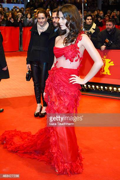 Ruby O Fee attends the Closing Ceremony of the 65th Berlinale International Film Festival at Berlinale Palace on February 14 2015 in Berlin Germany