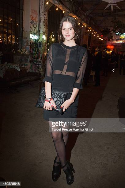 Ruby O Fee attends the 'Honig im Kopf' Premiere party at Neue Heimat on December 15 2014 in Berlin Germany