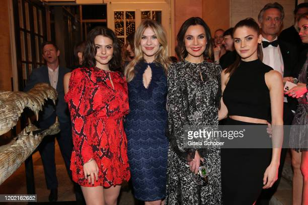 """Ruby O. Fee , Zsa Zsa Inci Buerkle, Nadine Warmuth, Lisa Tomaschewsky during the Berlin Opening Night by Bertelsmann Content Alliance at hotel """"Das..."""