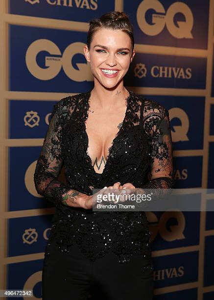 Ruby Rose arrives ahead of the 2015 GQ Men Of The Year Awards on November 10 2015 in Sydney Australia