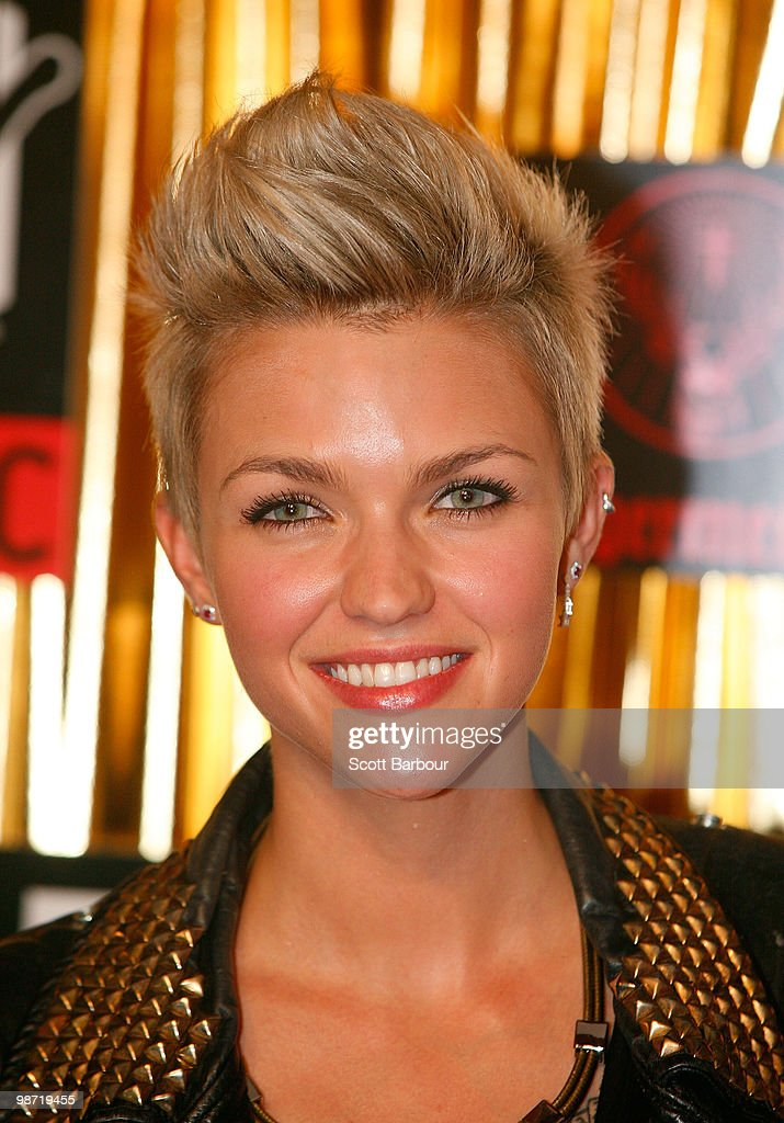 Ruby Rose arrives at the 'MTV Classic: The Launch' music event at the Palace Theatre on April 28, 2010 in Melbourne, Australia. The event marks the launch of MTV's new music channel 'MTV Classic', a 24-hour channel of classic contemporary music aimed at 25-40 year olds.