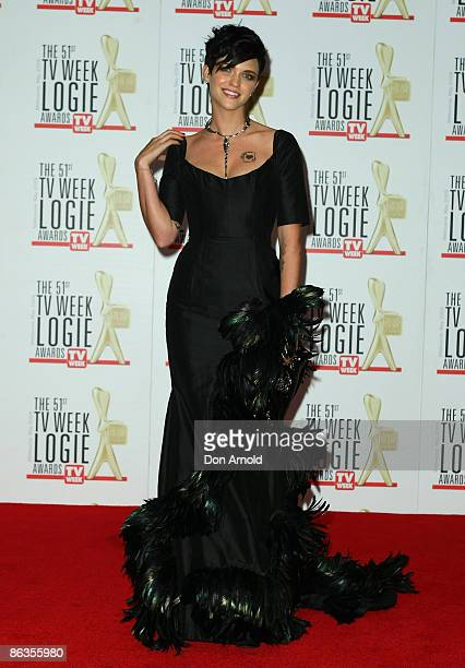Ruby Rose arrives for the 51st TV Week Logie Awards at the Crown Towers Hotel and Casino on May 3 2009 in Melbourne Australia