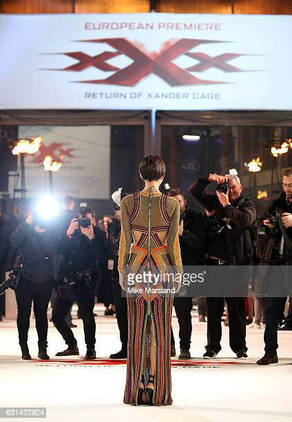 Ruby Rose attends the European Premiere of Paramount Pictures' xXx Return of Xander Cage on January 10 2017 in London United Kingdom
